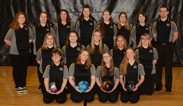 Girls Bowling team 2018-2019
