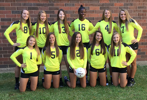 2017 9th Gold Volleyball Team
