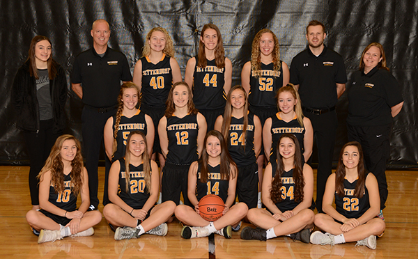 2018-19 Girls Varsity Basketball team pic