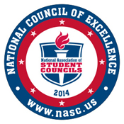 National Student Council Excellence graphic
